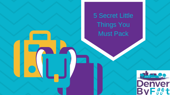 5 Little Things You Must Always Pack