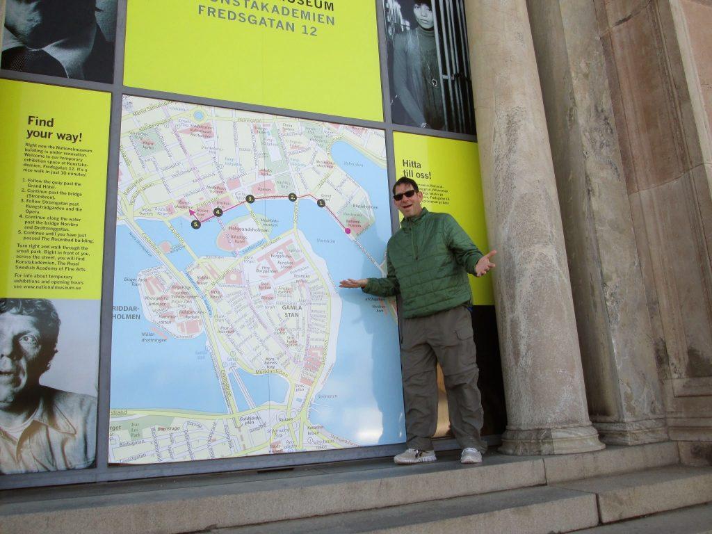 24 Hours Walking Stockholm