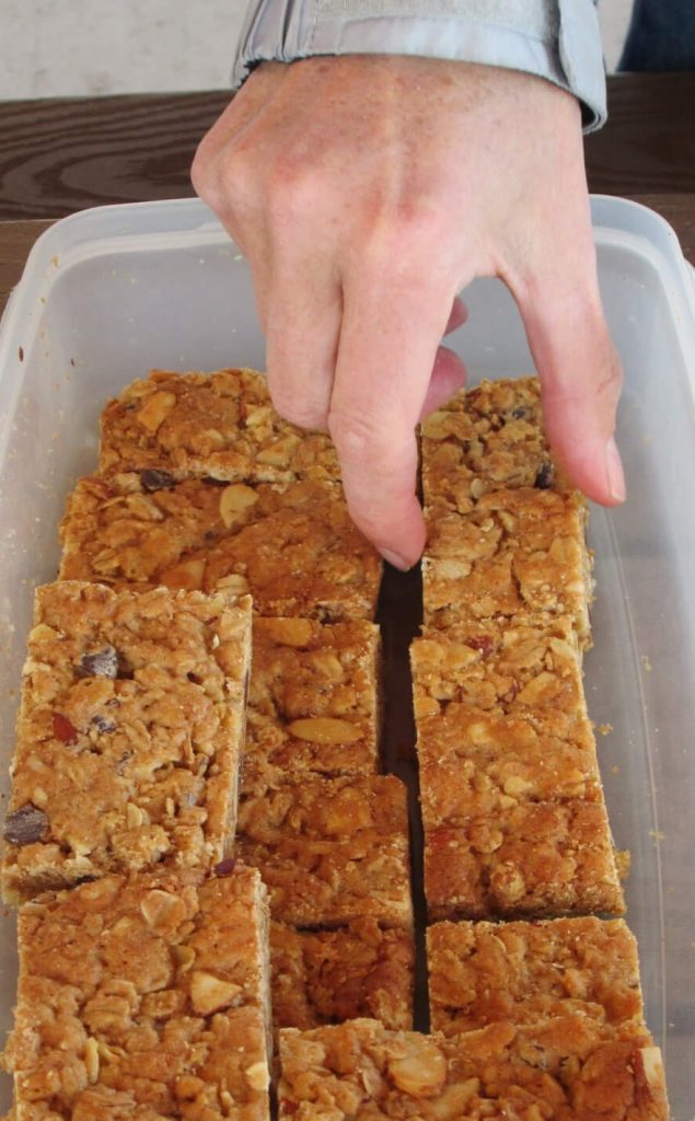 Diane's AHmazing Chewy Granola Bars