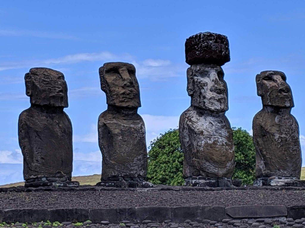 Walking and Biking Easter Island Rapa Nui