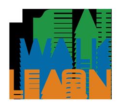 Eat Walk Learn logo