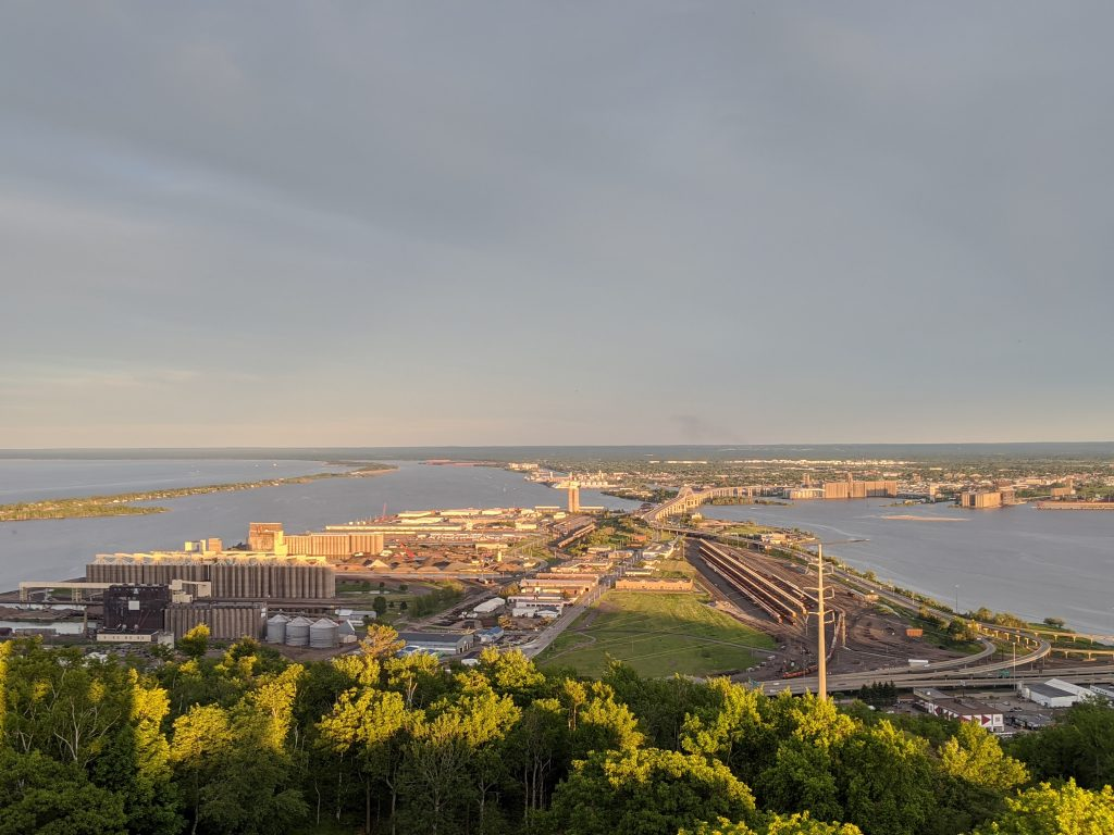 view of duluth