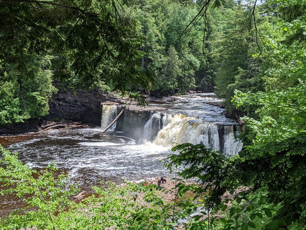 michigan waterfalls