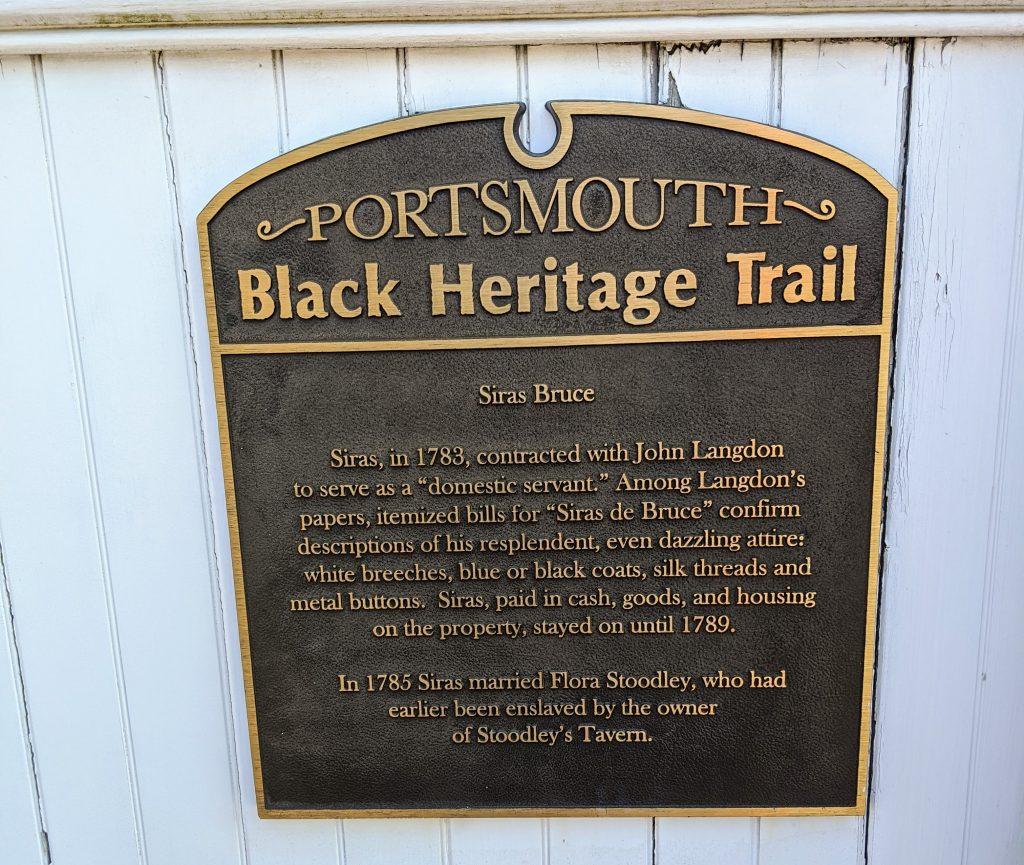 black heritage marker