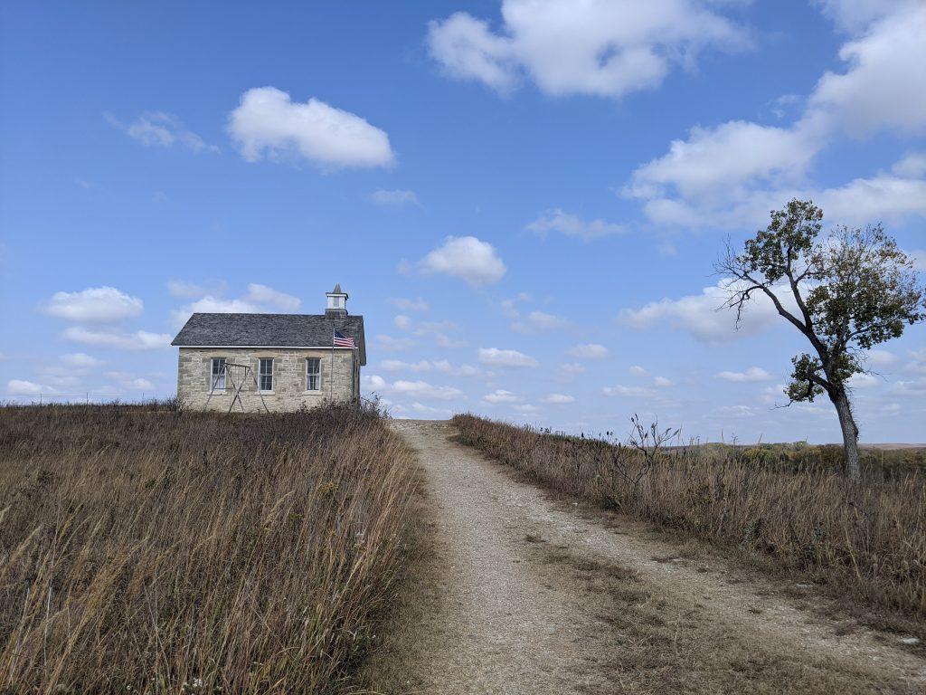 little school house on the prairie
