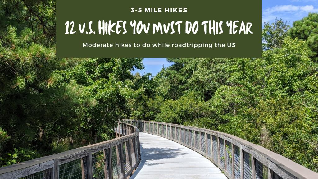 elevated hiking path