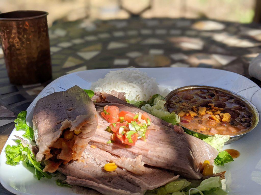 vegan tamale