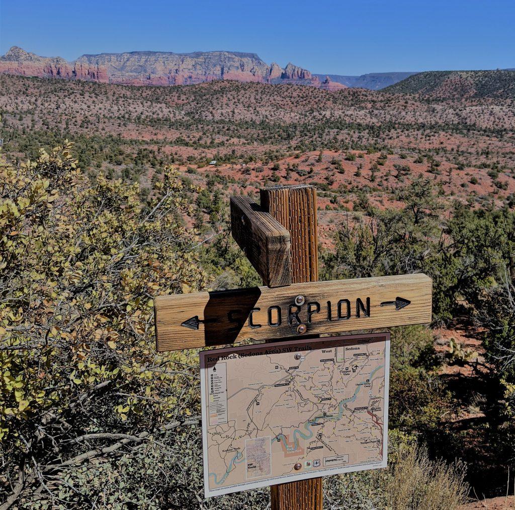 scorpion trail sedona