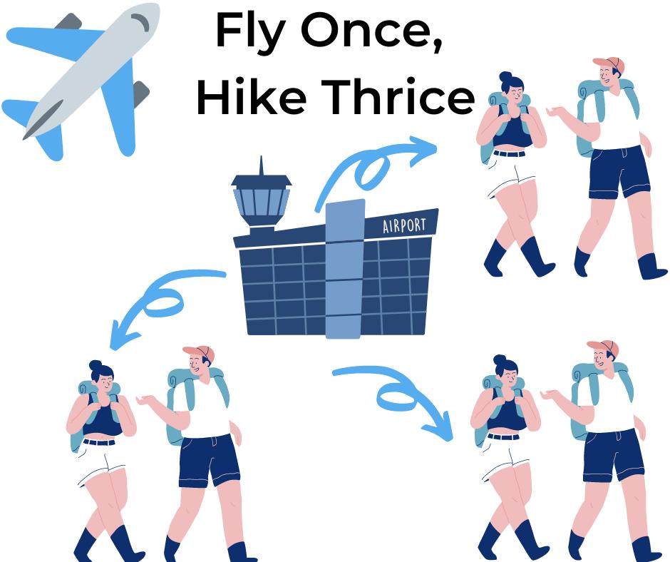 fly hike logistics