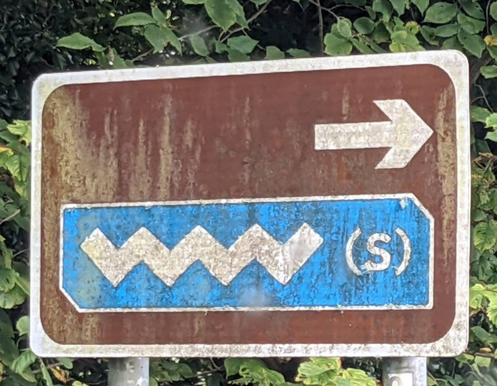 wild atlantic way sign